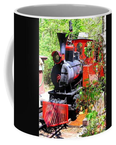 Hdr Coffee Mug featuring the photograph Old West Locomotive 2 by John Straton