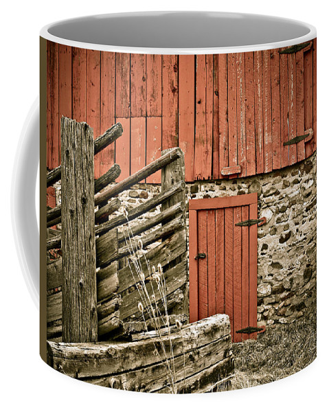 Old Coffee Mug featuring the photograph Old Wood by Marilyn Hunt