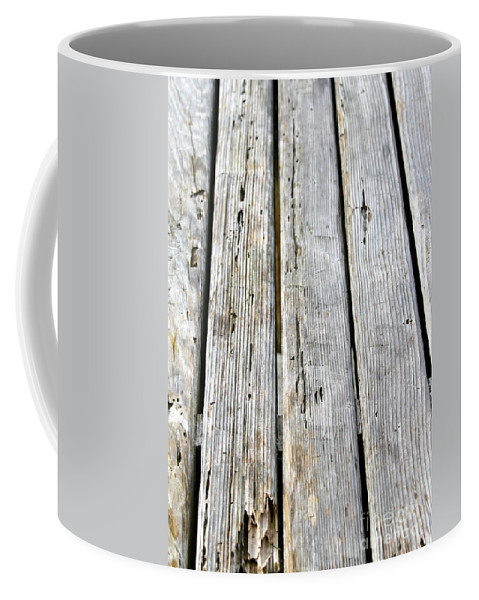 Old Coffee Mug featuring the photograph Old Wood Texture by Henrik Lehnerer