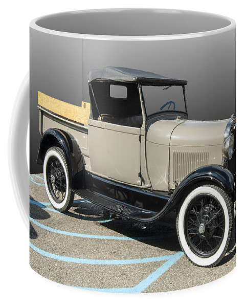 Old Pickup Convertible Coffee Mug featuring the photograph Older Pickup by Paul Cannon