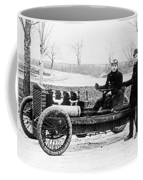 1902 Coffee Mug featuring the photograph Oldfield & Ford, 1902 by Granger