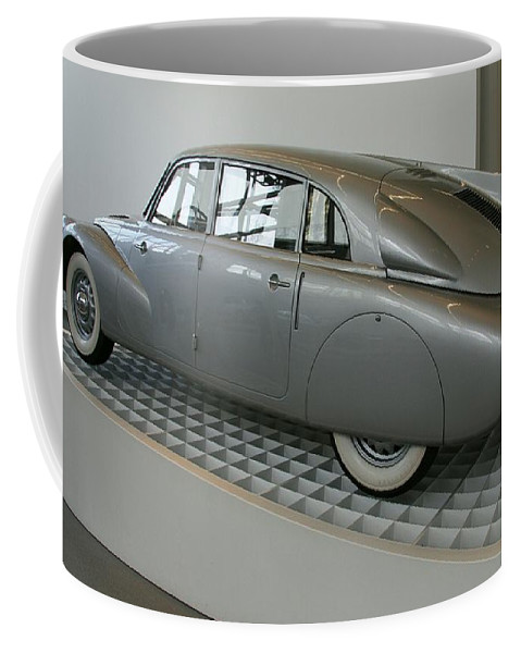 Oldtimer Coffee Mug featuring the photograph Oldtimer Tatra T87 by Christiane Schulze Art And Photography