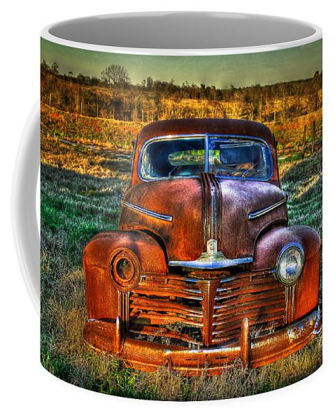 Pontiac Coffee Mug featuring the photograph Ole One Eye by Reid Callaway