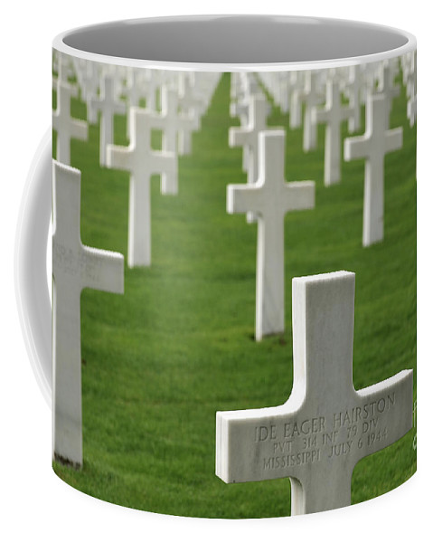 D-day Coffee Mug featuring the photograph Omaha 3 by Arterra Picture Library