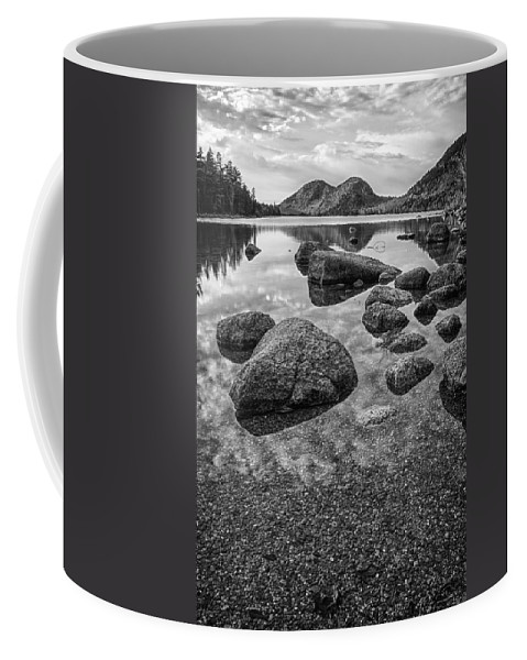 Acadia Coffee Mug featuring the photograph On Jordan Pond by Kristopher Schoenleber