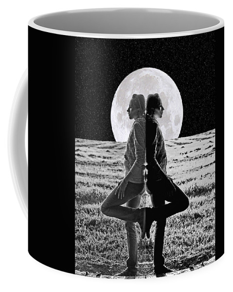 Undecided Photograph Coffee Mug featuring the photograph Meditation by Jim Garrison