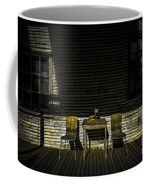 Australia Coffee Mug featuring the photograph On The Porch by Paul Woodford