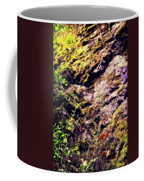 Oregon Coffee Mug featuring the photograph On The Side Of The Rock by Image Takers Photography LLC - Laura Morgan