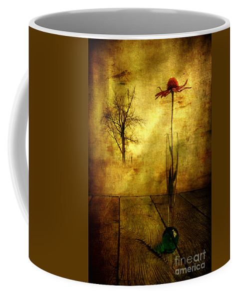 Artist Coffee Mug featuring the photograph On The Table by Veikko Suikkanen