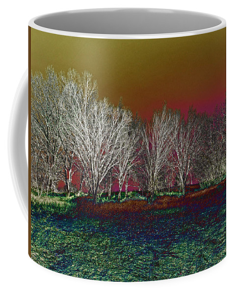 Coffee Mug featuring the photograph On Top Of The Hill by David Pantuso