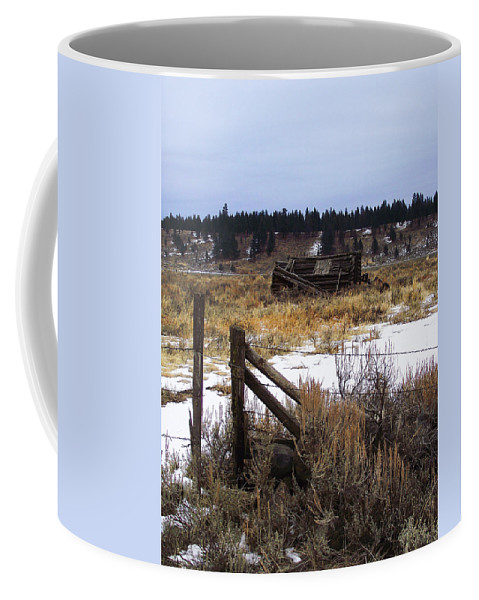 Scenic Coffee Mug featuring the photograph Once A Shelter by Mike and Sharon Mathews