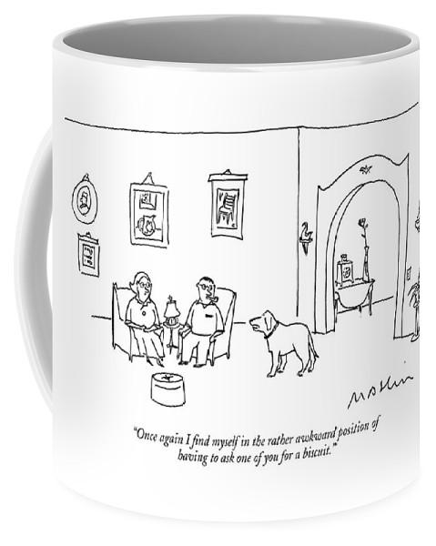 Once Again I Find Myself In The Rather Awkward Coffee Mug