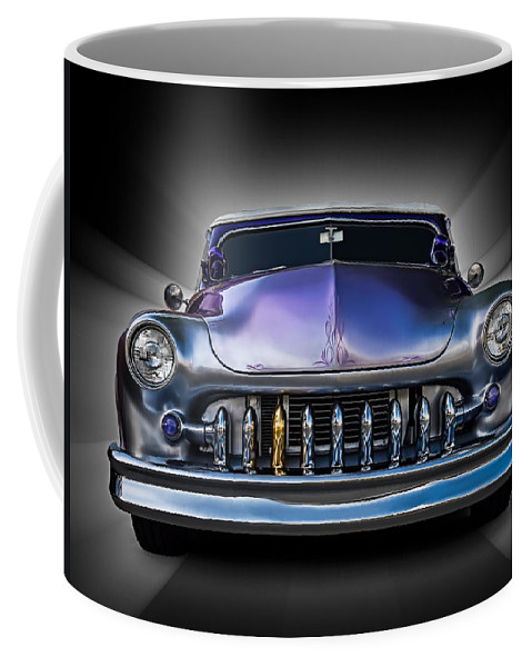 Classic Coffee Mug featuring the digital art One Gold Tooth by Douglas Pittman