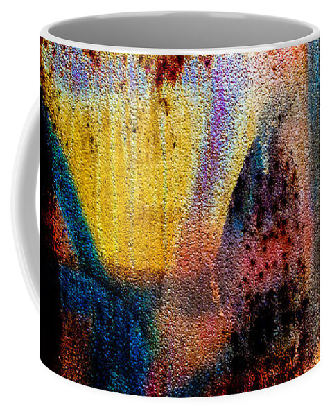 Abstract Coffee Mug featuring the photograph One Half by Bob Orsillo