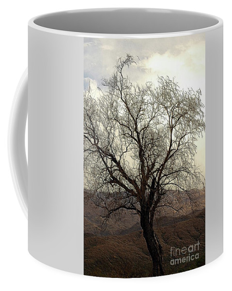 Tree Coffee Mug featuring the photograph One Tree by Kathleen Struckle