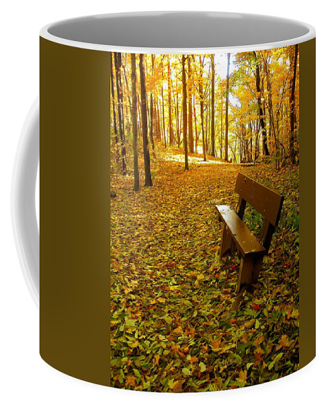 Fall Coffee Mug featuring the photograph Only Lovers Are Missing by Zafer Gurel