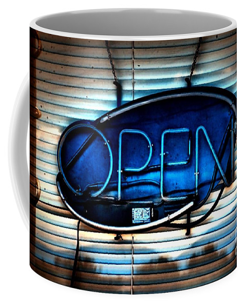 Abstract Coffee Mug featuring the photograph Open by Lauren Leigh Hunter Fine Art Photography