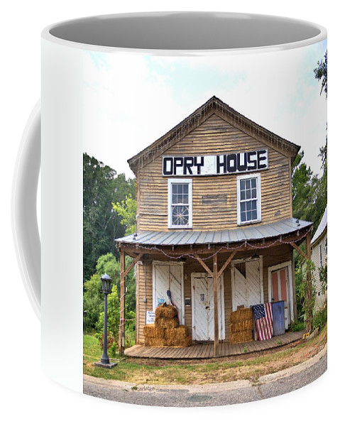 6086 Coffee Mug featuring the photograph Opry House - Square by Gordon Elwell