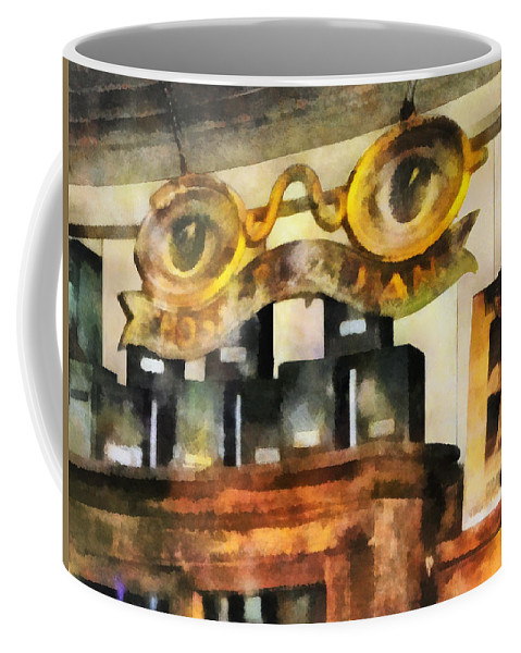 Optometrist Coffee Mug featuring the photograph Optometrist - Spectacles Shop by Susan Savad