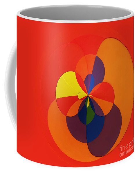 Abstract Coffee Mug featuring the photograph Orb 11 by Elena Nosyreva