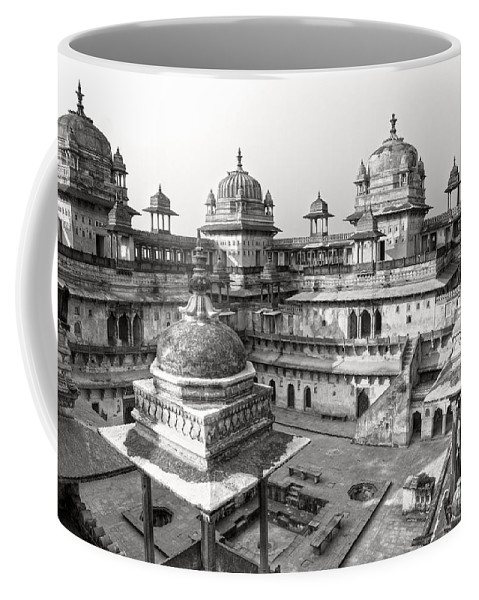 Orcha Coffee Mug featuring the photograph Orchha's Palace - India by Luciano Mortula