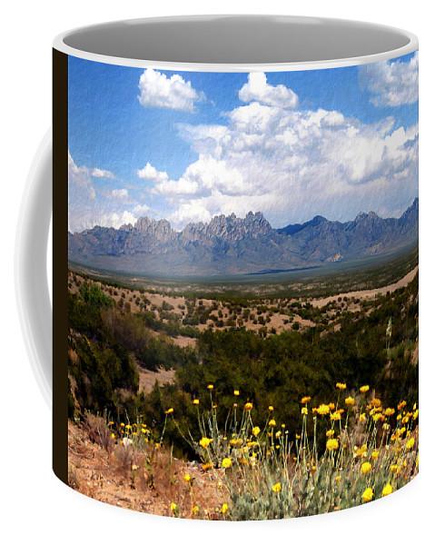 Organ Mountains Coffee Mug featuring the photograph Organ Mountain Splendor by Kurt Van Wagner