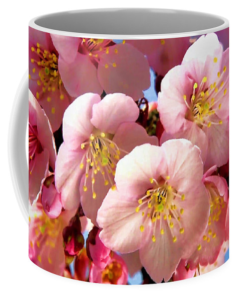 Flowers Coffee Mug featuring the photograph Oriental Flowers by Lyriel Lyra