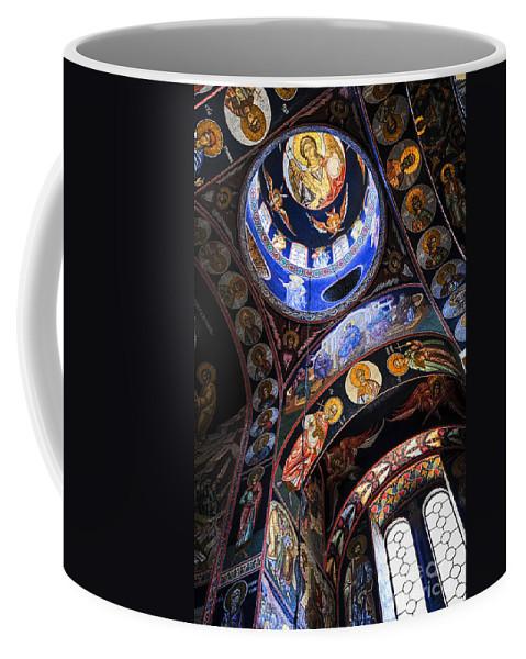 Mosaic Coffee Mug featuring the photograph Orthodox Church Interior by Elena Elisseeva