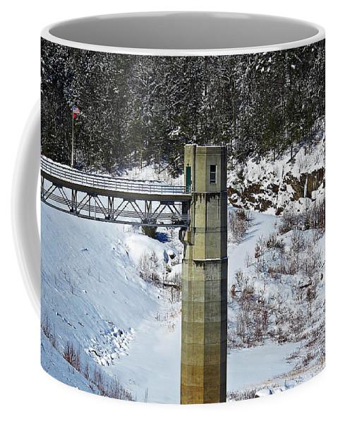 Otter Brook Dam Coffee Mug featuring the photograph Otter Brook Dam by MTBobbins Photography