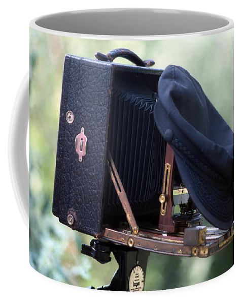 Art Coffee Mug featuring the photograph Our Craft by Skip Willits