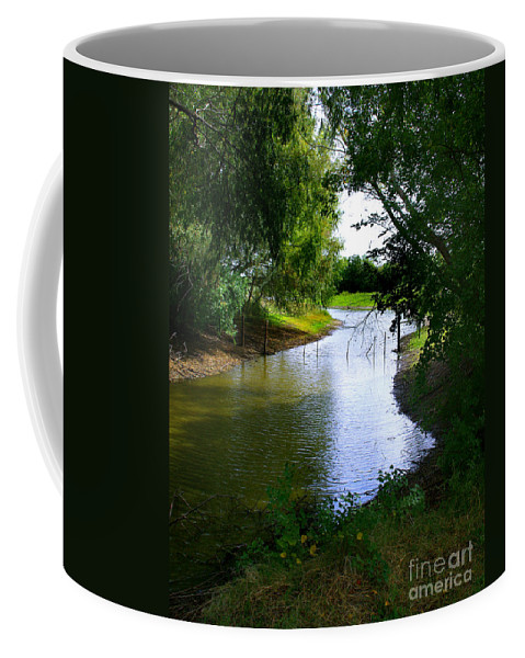 Angling Coffee Mug featuring the photograph Our Fishing Hole by Peter Piatt