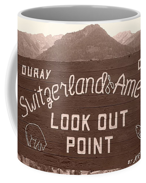 Ouray Colorado Coffee Mug featuring the photograph Ouray Colorado by Dan Sproul