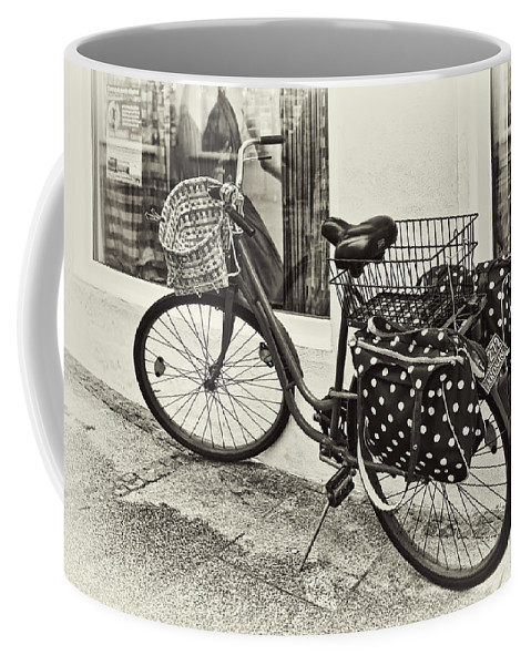 Bicycle Coffee Mug featuring the photograph Out For A Ride by Marcia Colelli