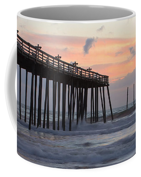 Atlantic Coffee Mug featuring the photograph Outer Banks Sunrise by Adam Romanowicz