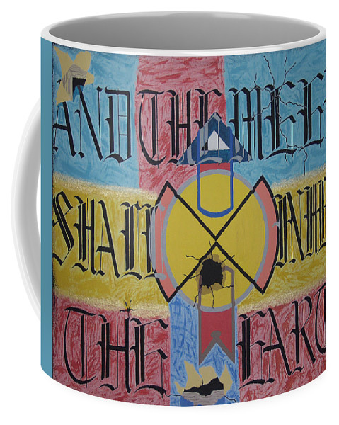 Famous Saying Coffee Mug featuring the painting Overature 2112 by Dean Stephens