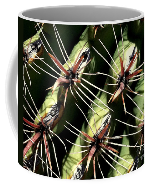 Cacti Coffee Mug featuring the photograph Owie Four by Marlene Burns