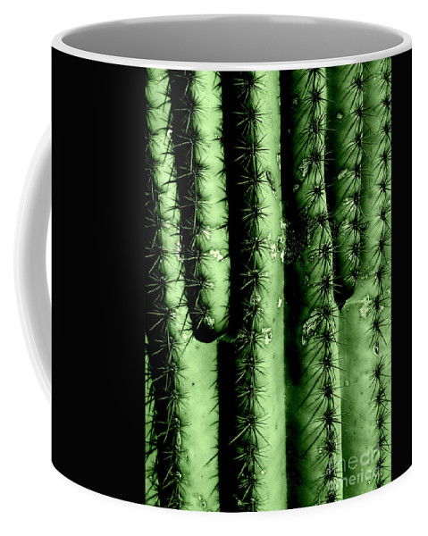 Cacti Coffee Mug featuring the photograph Owie One by Marlene Burns