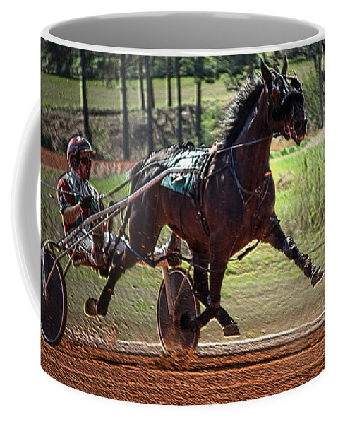 Animal Coffee Mug featuring the photograph Pacer by Donna Brown