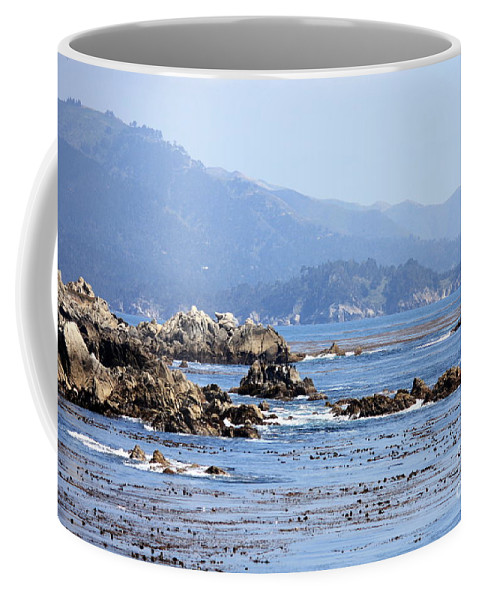 Ocean Coffee Mug featuring the photograph Pacific Blues by Carol Groenen
