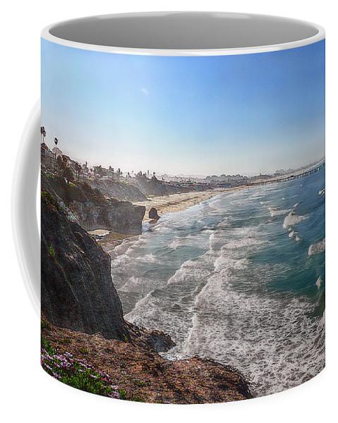 Ocean Coffee Mug featuring the photograph Pacific Coast by Hanny Heim