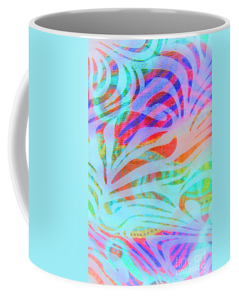 Abstract Coffee Mug featuring the photograph Pacific Daydream by Nareeta Martin