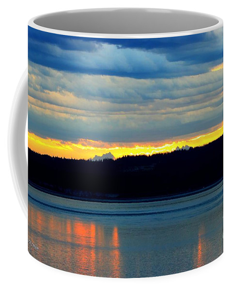 Pacific Coffee Mug featuring the photograph Pacific Northwest Morning by Tap On Photo