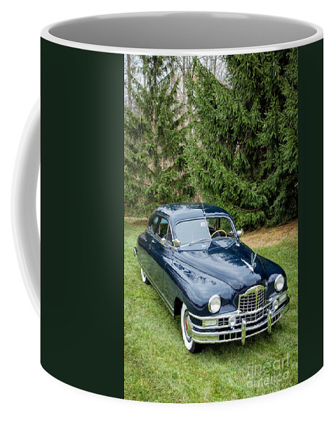 Automobiles Coffee Mug featuring the photograph Packard 1 by Timothy Hacker