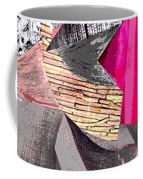 4 Coffee Mug featuring the mixed media Page 4 by Mary Bedy