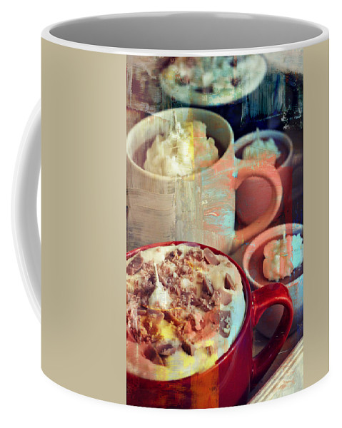 Cup Of Coffee Coffee Mug featuring the photograph The Coffee Shop Art by Alanna DPhoto