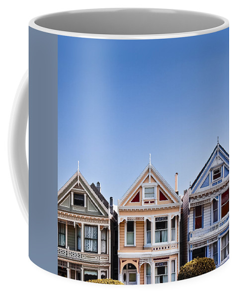 Painted Ladies Coffee Mug featuring the photograph Painted Ladies by Dave Bowman