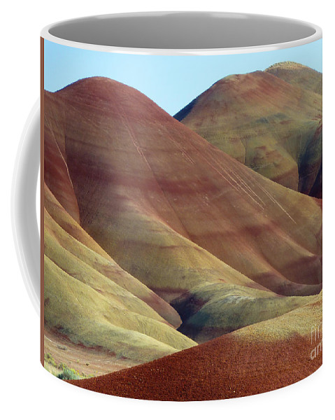 Abstract Coffee Mug featuring the photograph Painted Ladies by Lauren Leigh Hunter Fine Art Photography