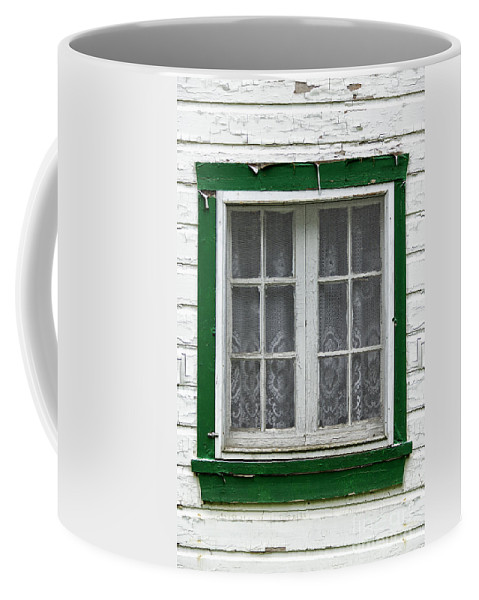 Window Coffee Mug featuring the photograph Painted Window by Margie Hurwich
