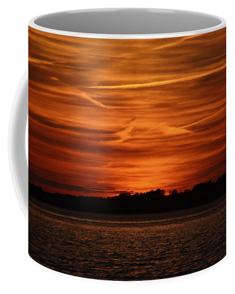Sunsets Coffee Mug featuring the photograph Painting In The Sky by Lisa Wooten