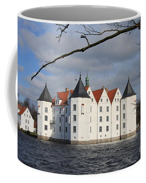Palace Coffee Mug featuring the photograph Palace Gluecksburg - Germany by Christiane Schulze Art And Photography